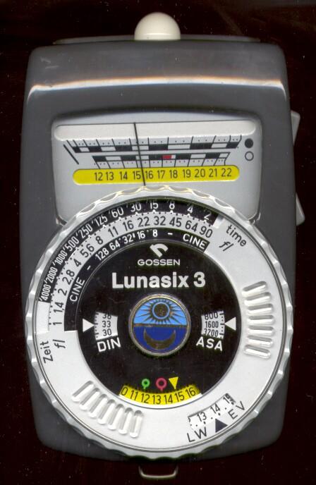 how to use gossen lunasix 3